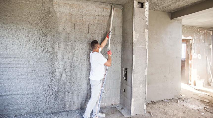 Машинная штукатурка стен Дарницкий район